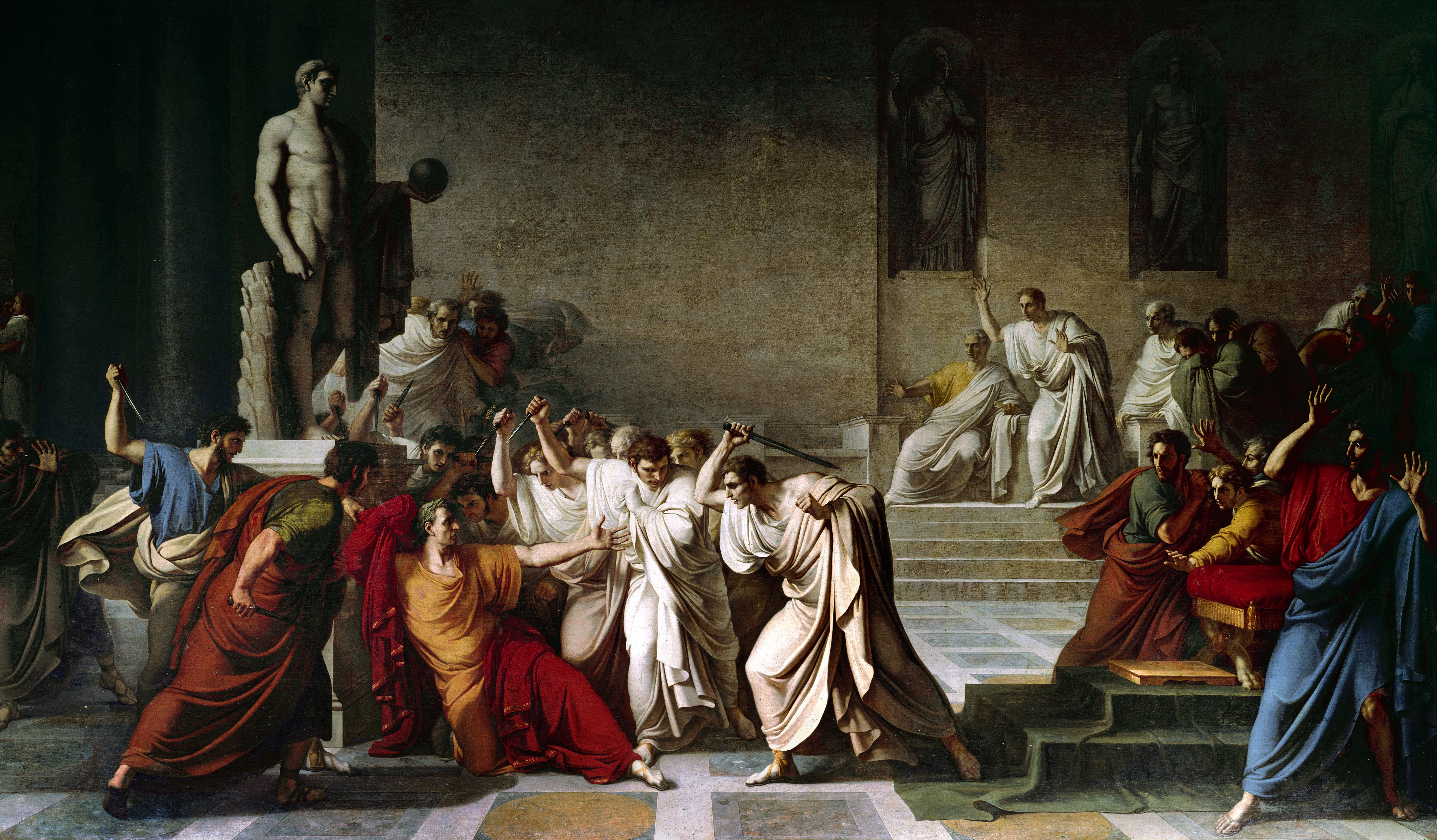 brutus philosophy and the gods Gaius julius caesar was born 12  among the assassins were marcus junius brutus,  a freelance writer and former part-time professor of philosophy at marist.